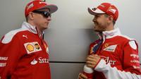 Vettel: Nebýt Verstappena, tak s Kimim skončíme oba na pódiu - anotační foto
