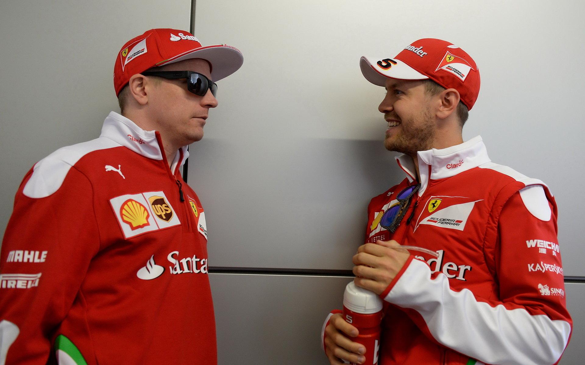Vettel: Nebýt Verstappena, tak s Kimim skončíme oba na pódiu - anotační obrázek