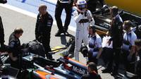Jenson Button před závodem v Soči