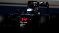Fernando Alonso při závodě v Soči