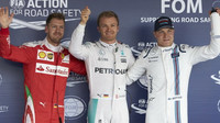 FOTO: Sobotní kvalifikace v Soči - náskok Mercedesu se zvětšuje