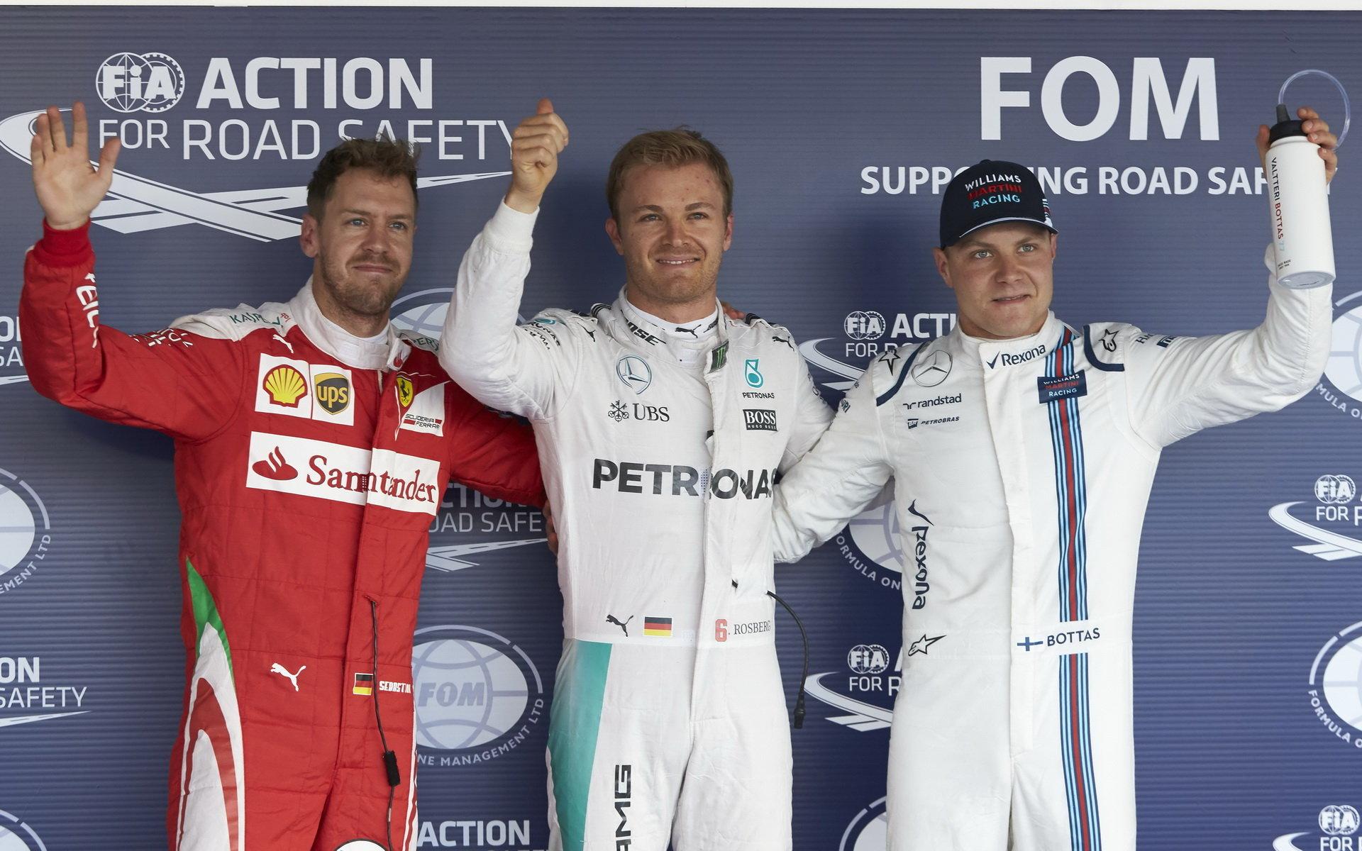 FOTO: Sobotní kvalifikace v Soči - náskok Mercedesu se zvětšuje - anotační foto