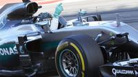 Nico Rosberg p závodě v Soči
