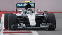 Nico Rosberg při závodě v Soči