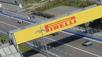 Safety car při závodě v Soči