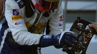 Felipe Nasr a volant vozu Sauber C35 - Ferrari v Soči
