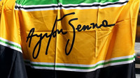 Vzpomínka na Ayrtona Sennu v Soči