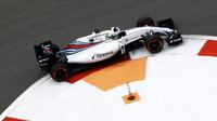 Felipe Massa při kvalifikaci v Soči