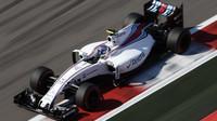 Valtteri Bottas při závodě v Soči