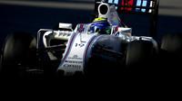 Felipe Massa při závodě v Soči