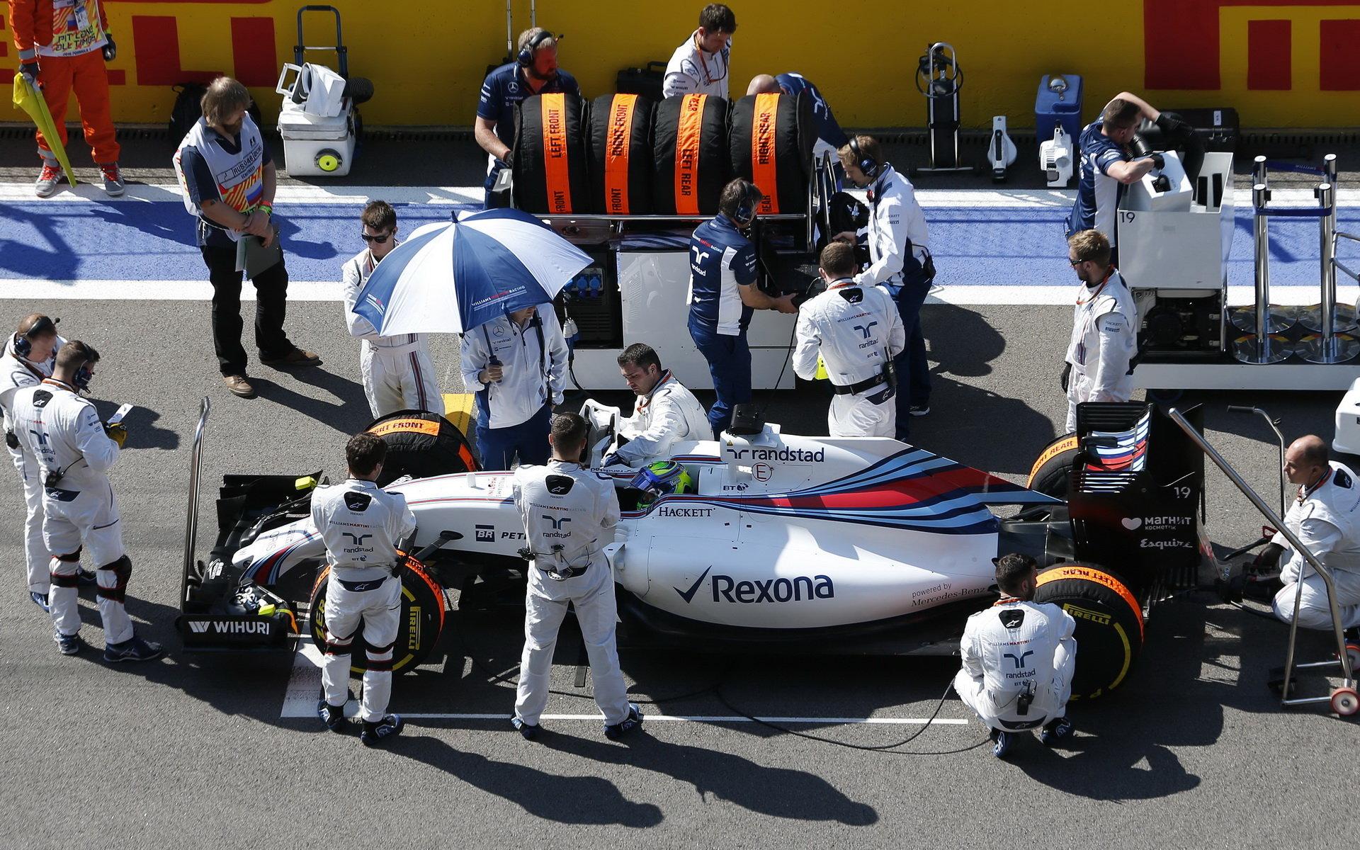 Massa o střetu filosofií v F1 či souboji s Red Bullem - anotační foto
