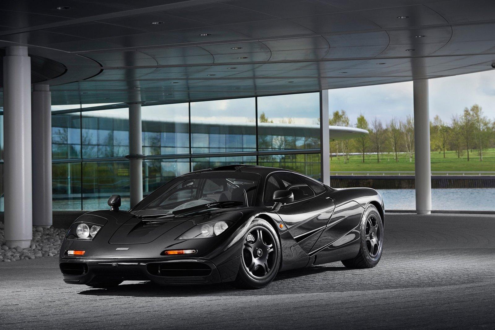 Exkluzivní McLaren F1 jde do prodeje. Má najeto pouze 4500 km - anotační foto