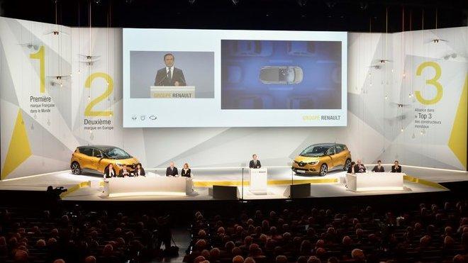 Renault odhalil své plány během velké schůze akcionářů