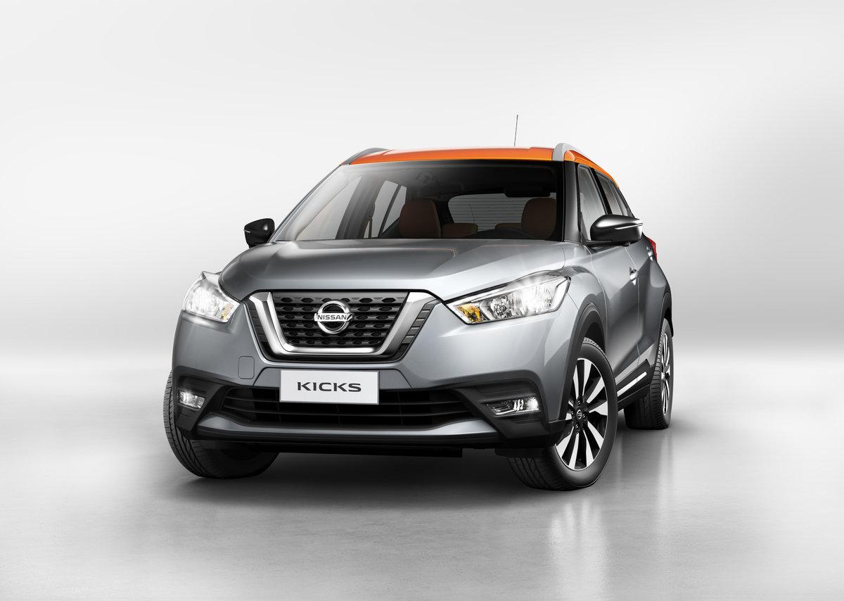 Nissan odhaluje další crossover, Kicks si ale zatím užijí jen Brazilci - anotační foto