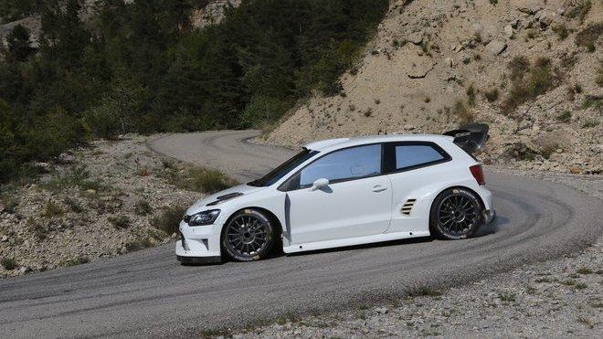 Volkswagen Polo R WRC při testech