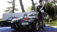 Italské policejní Alfy Romeo Giulia QV