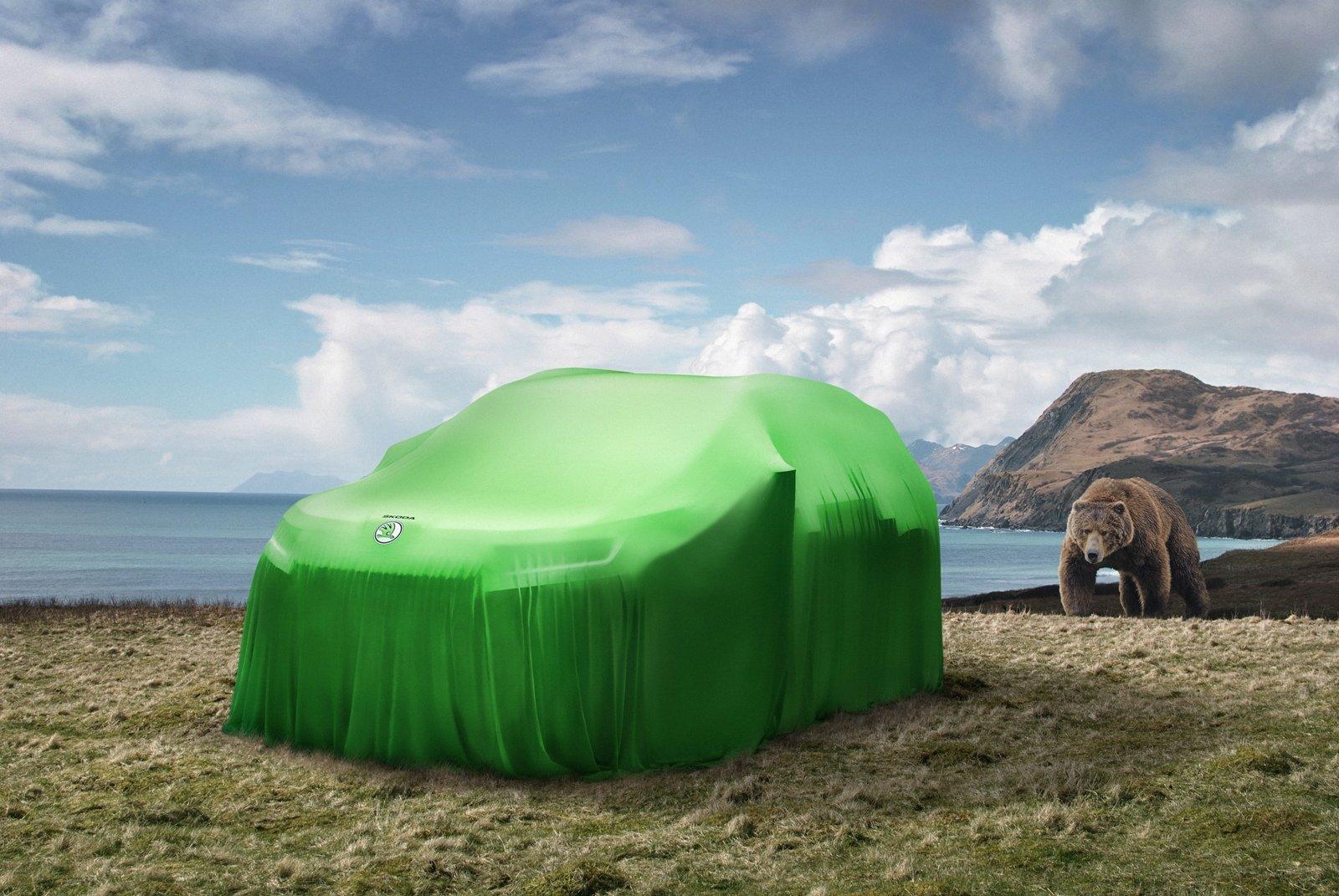 Nové SUV Škody se bude skutečně jmenovat Kodiaq, je počátkem modelové ofenzivy - anotační foto