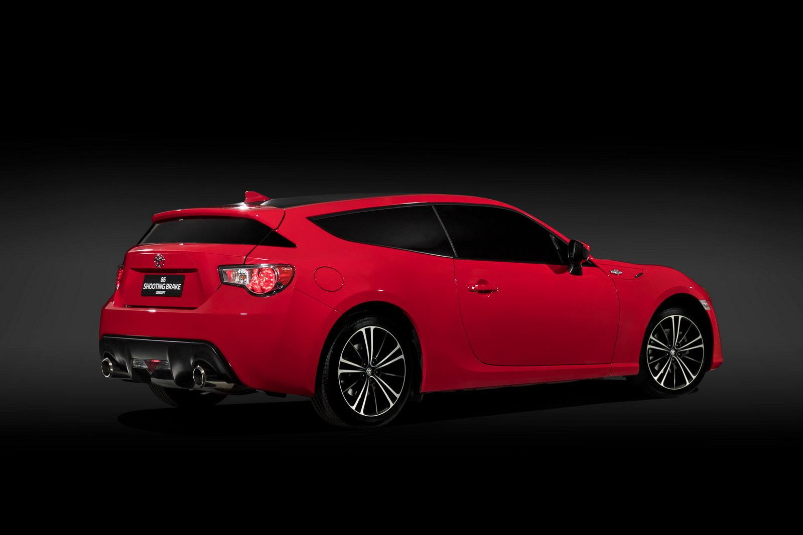 Australská Toyota překvapila svět, ukázala 86 s karosérií shooting brake - anotační foto