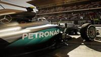 Nico Rosberg při tréninku v Barceloně