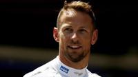 Jenson Button v Barceloně