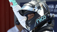 Nico Rosberg po kvalifikaci v Barceloně