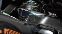 Nico Rosberg při kvalifikaci v Barceloně