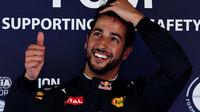 Daniel Ricciardo po kvalifikaci v Barceloně