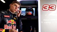 Max Verstappen v Barceloně