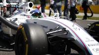 Felipe Massa před závodem v Barceloně