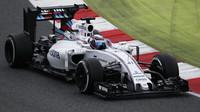 Williams v Barceloně testuje radikální zadní křídlo + FOTO - anotační obrázek