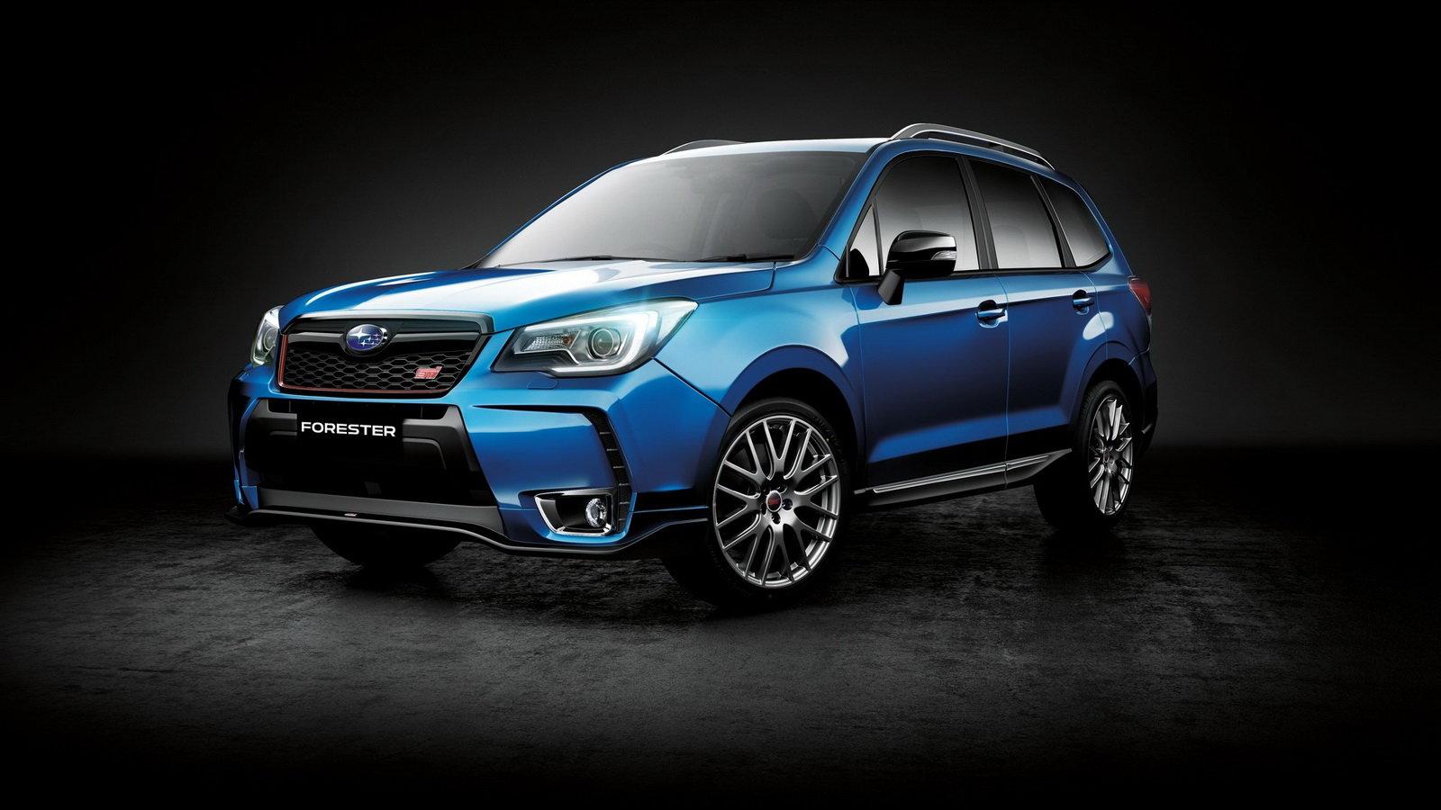 Forester STI je snem nejednoho fanouška Subaru, v Evropě s ním však nepočítejte - anotační foto