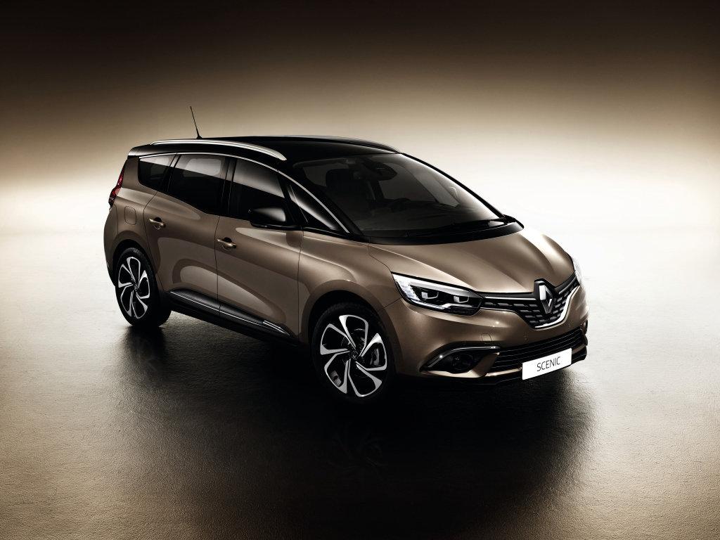 Sedmimístný Renault Grand Scénic přichází, transformaci na crossover se nevyhnul - anotační foto