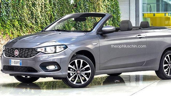 Nový Fiat Tipo v otevřené verzi Cabriolet
