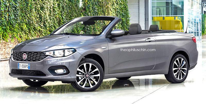 Nový Fiat Tipo se ukázal v provedení Cabriolet. Má šanci na výrobu? - anotační foto
