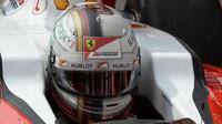 Sebastian Vettel v Monaku