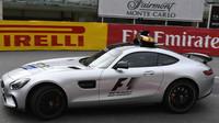 Safety Car při tréninku v Monaku