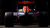 Max Verstappen při tréninku v Monaku
