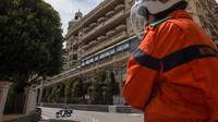 Felipe Nasr při tréninku v Monaku