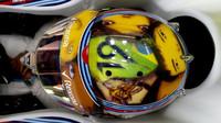 Felipe Massa a nový design přilby v Monaku