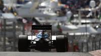 Felipe Massa při tréninku v Monaku