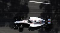 Valtteri Bottas při tréninku v Monaku