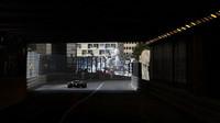 Výjezd z tunelu v Monaku