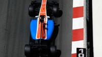 Pascal Wehrlein při kvalifikaci v Monaku