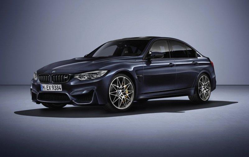 Nová edice BMW M3 30 Jahre slaví třicet let existence sportovní eMtrojky. - anotační foto