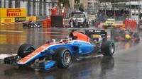 Pascal Wehrlein v závodě v Monaku