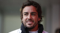 Fernando Alonso v Monaku