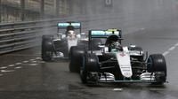 S Wolffem o Rosbergově monackém kalichu hořkosti - uhnutí Hamiltonovi - anotační foto