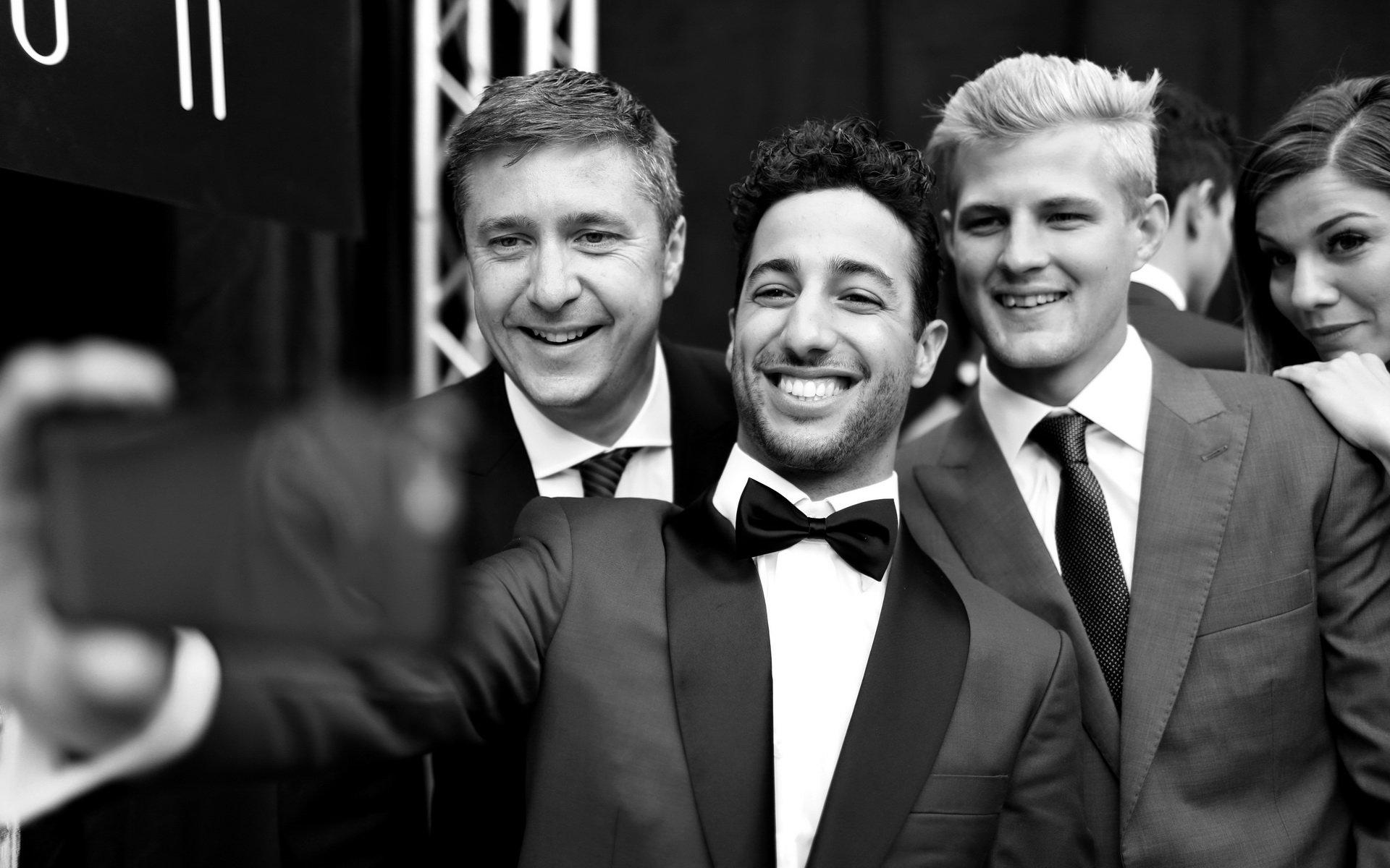 Předzávodní servis: Ricciardo si věří i za mokra - anotační foto