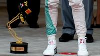 Trofej vítěze - Lewise Hamiltona v Monaku