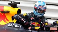 Daniel Ricciardo po závodě v Monaku